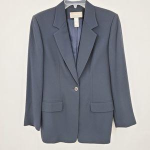 LIZ CLAIBORNE COLLECTION black blazer